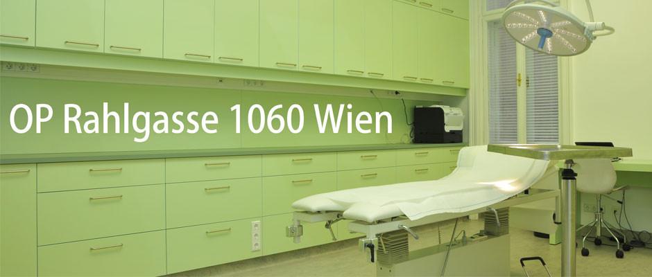 OP Rahlgasse Operationssaal zu mieten